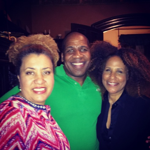 Such a fun night at Akwaaba party with my dearest college friend, Monique and the fab raconteur Patrik Henry Bass